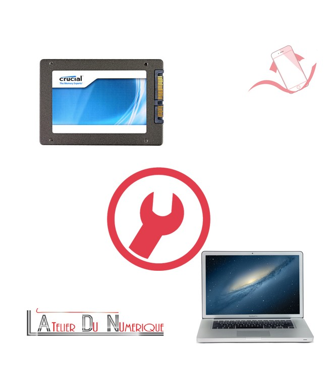 remplacement disque dur ssd macbook pro montpellier. Black Bedroom Furniture Sets. Home Design Ideas